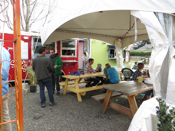 Mobile Brews: Food Cart Pods That Serve Beer in Portland