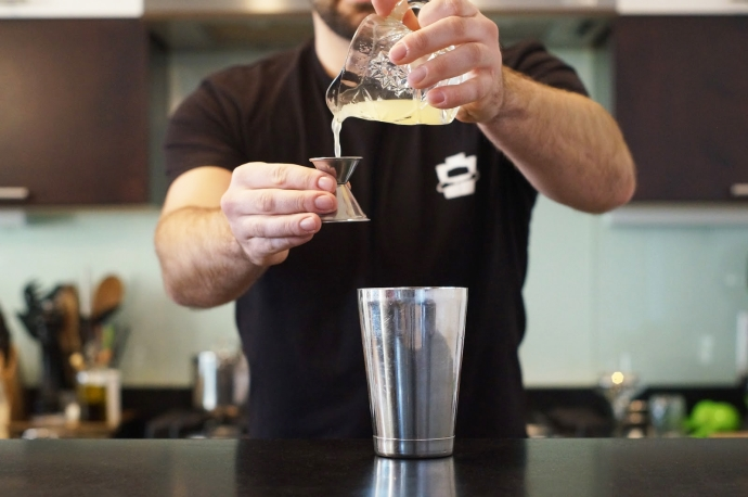 Home Bar Project: How to Make a French 75