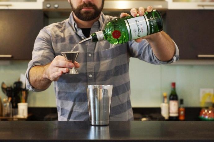 Step 4 of 6: Add 1 1/2 oz london dry gin - Drink Portland ...