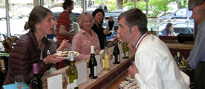 Wine Pairing at St. Honore Boulangerie, May 16