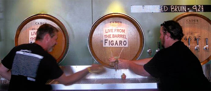 Cascade Brewing Releases Figaro in Bottles, August 24