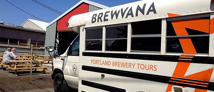 Brewvana Connoisseur Tour With Burnside's Jason McAdam, Sept. 29