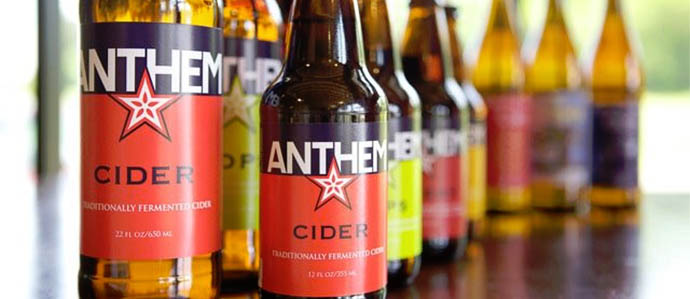 Cider Review: Anthem Hops