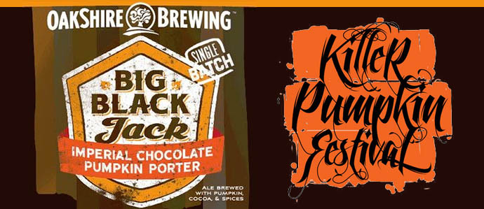 Beer Review: Oakshire Brewing Big Black Jack Imperial Pumpkin Chocolate Porter