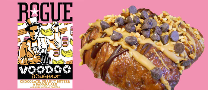 Rogue Introduces VooDoo Chocolate, Peanut Butter & Banana Ale