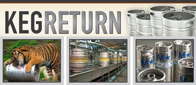 Help Lost Kegs Find Their Way Home With KegReturn.com