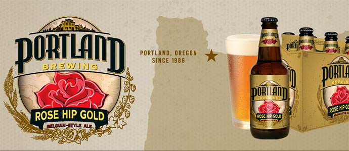 Portland Brewing Relaunches With Rose Hip Gold