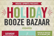 House Spirits Holiday Booze Bazaar