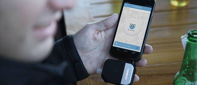 Alcohoot Turns Your Phone Into a Breathalyzer