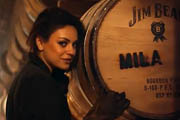 The New Face of Jim Beam Is… Mila Kunis?