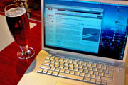 Drinking on the Job: Freelancers Choose Bars Over Coffee Shops as Places to Conduct Business