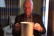 Watch Patrick Stewart's Classy Take on the Ice Bucket Challenge