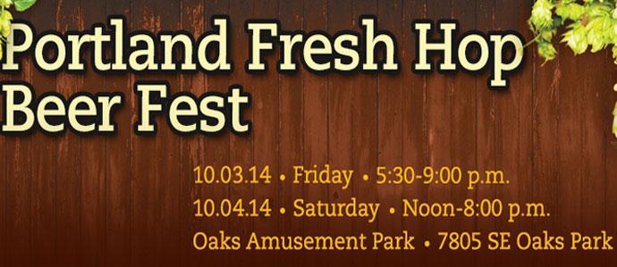 Portland Fresh Hop Beer Fest, Oct. 3-4