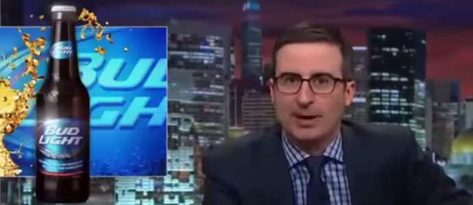 John Oliver Destroys Bud Light on 'Last Week Tonight'