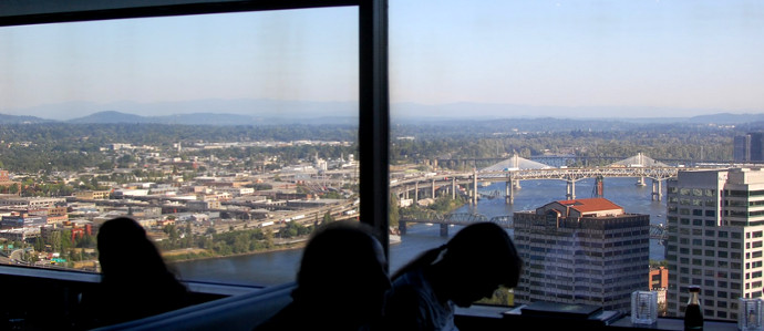 Sip While You Savor Some of Portland's Best Views at These Bars
