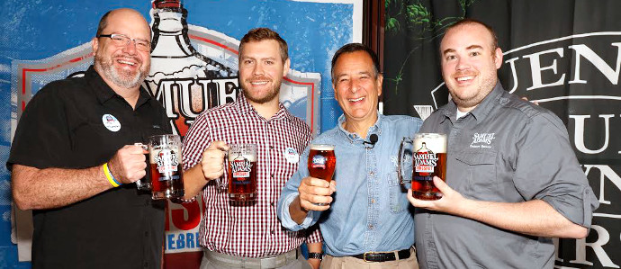 Boston Brewing Company's Jim Koch Announces Samuel Adams LongShot Homebrew Contest Winners and Nitro Brews Coming Soon