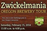 Oregon Craft Brewers Present Zwickelmania Oregon Brewery Tour