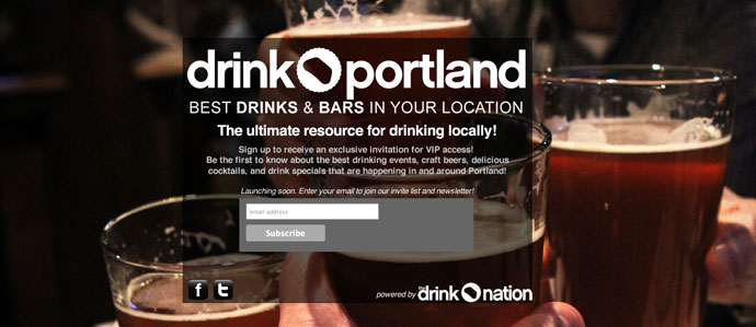 Drink Portland to Launch in May