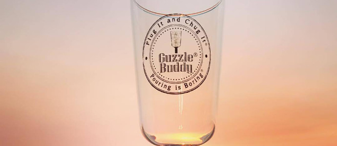 Things No One Asked For: The Guzzle Buddy Beer Bottle Glass