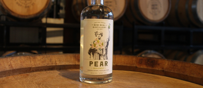 New Deal Pear Brandy Has Come to Portland