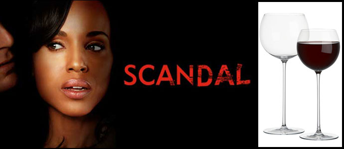 Hey Gladiators, Here Are Olivia Pope's 'Scandal' Wine Glasses
